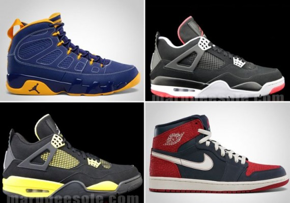 Air Jordan November 2012 Retro Releases