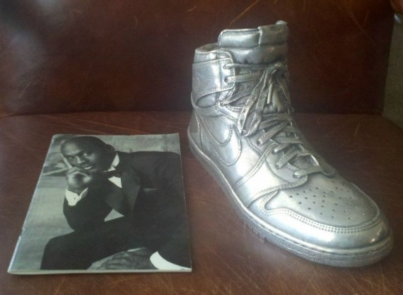 Silver Plated Air Jordan 1 Sculpture