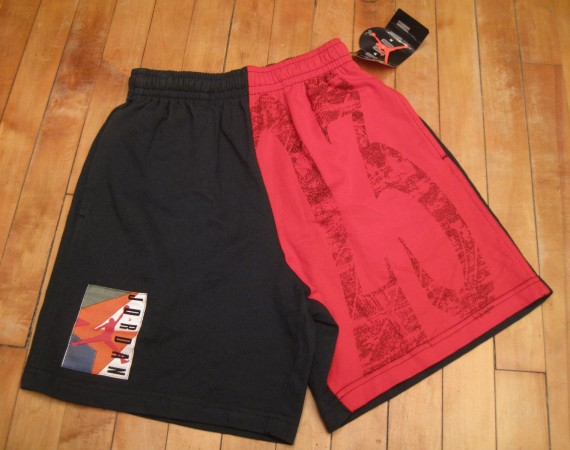 Vintage Gear: Air Jordan 23 Black/Red Shorts