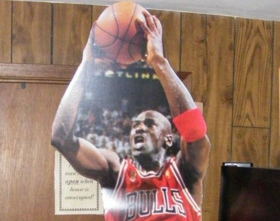 Vintage Gear: Michael Jordan Cardboard Cut out