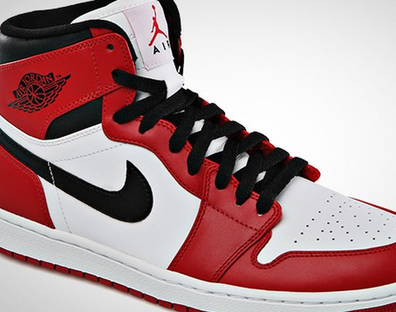 Air Jordan 1 High: White   Varsity Red   Black | Official Images