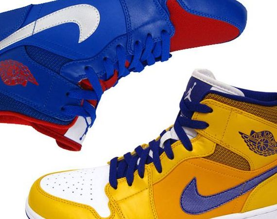 Air Jordan 1 Mid: Spring 2013 Colorways