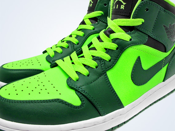 Air Jordan 1 Phat  Gorge Green  Neon