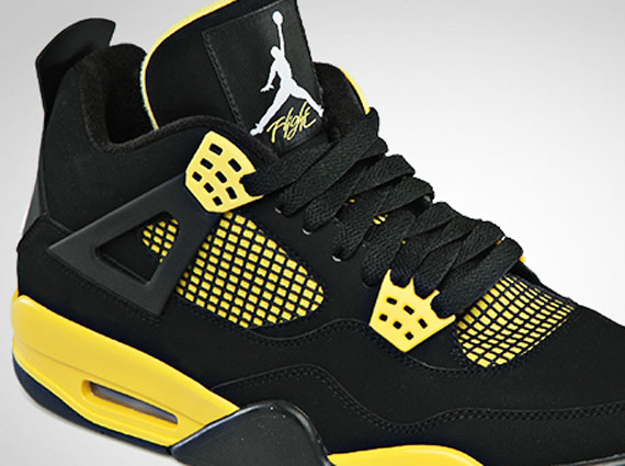 "Air Jordan IV: ""Thunder""   Official Images"