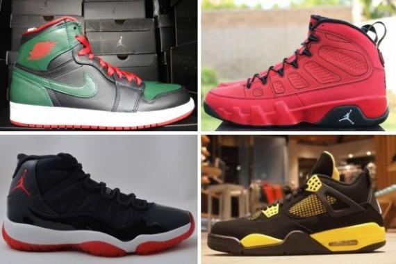 Air Jordan December 2012 Retro Releases