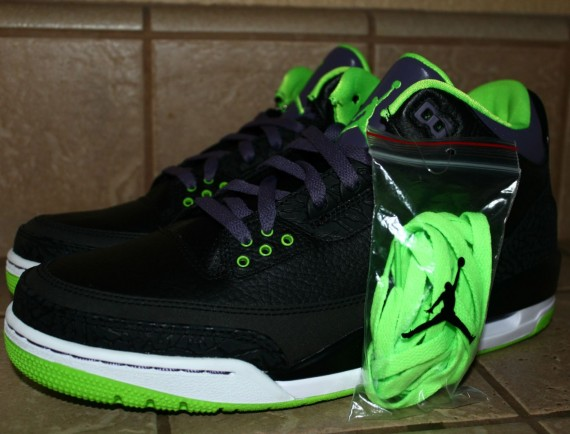 Air Jordan III: Joker   Available on eBay