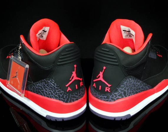 Air Jordan III Retro Bright Crimson