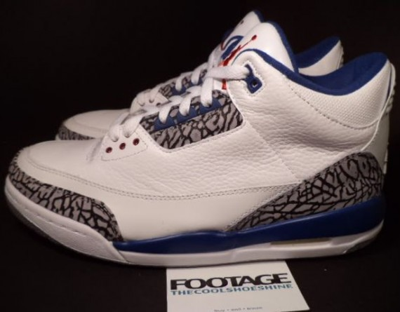 The Daily Jordan: Air Jordan III True Blue   2009