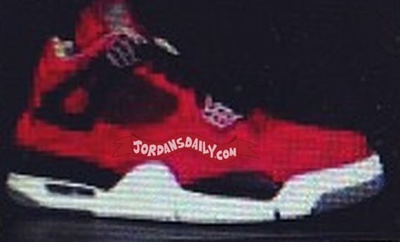 Air Jordan IV: Fire Red Suede  Fall 2013