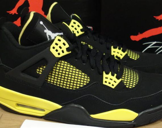 "Air Jordan IV: ""Thunder""   Available Early on eBay"