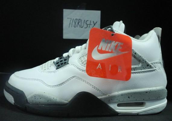The Daily Jordan: Air Jordan IV White/Cement   1999
