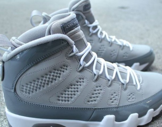 "Air Jordan IX: ""Cool Grey""   Arriving in Stores"