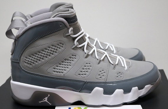 Air Jordan IX Cool Grey  Release Reminder