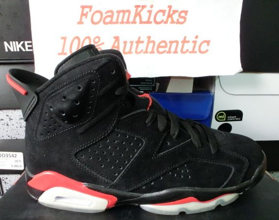 The Daily Jordan: Air Jordan VI   Black   Infrared   2010