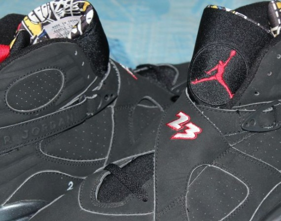 Air Jordan VIII Playoffs Prototype Sample