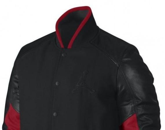 Air Jordan XI Bred VIP Letterman Jacket