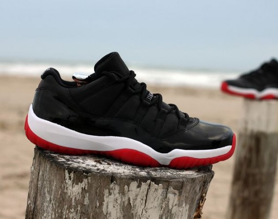 Air Jordan XI Low Bred Customs by JWDanklefs
