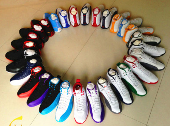 Air Jordan XII Player Exclusive Collection