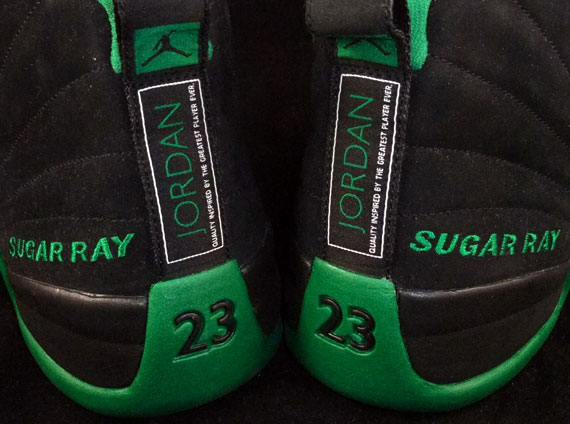 Air Jordan XII: Ray Allen Celtics Away PE