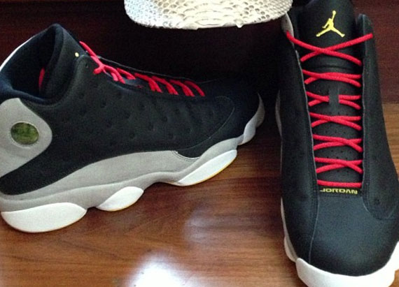 Air Jordan XIII: Black   Grey   Gold