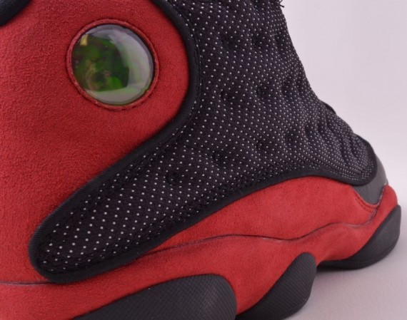 Air Jordan XIII: Bred   Detailed Images