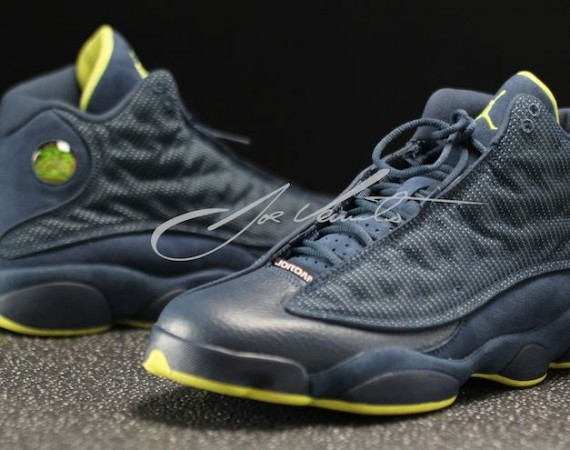 Air Jordan XIII: Squadron Blue   Black