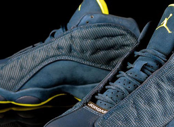 Air Jordan XIII: Squadron Blue   Electric Yellow