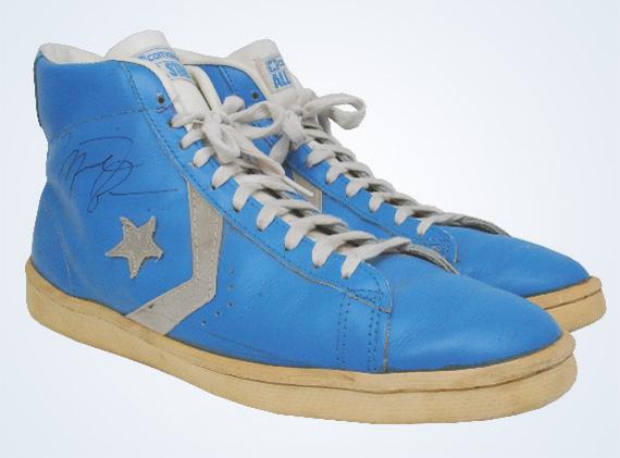 Converse Pro Leather – Michael Jordan Game-Worn Autographed OG ... d568a8a57