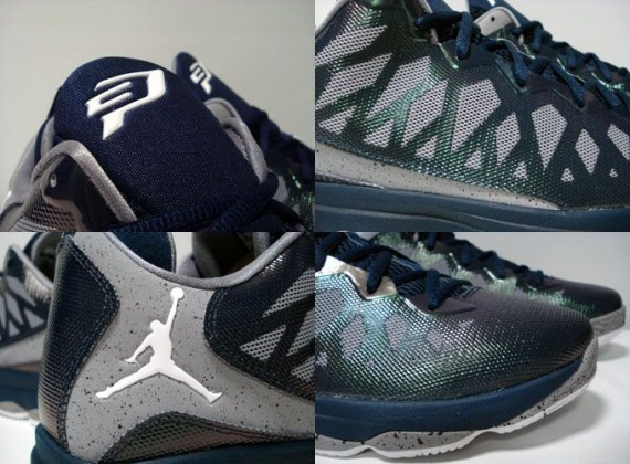 uk availability 1f4c1 8187f ... Anthony dipped a little bit further into the Jordan Brand well with the   Cement Pack  Jordan Melo M8 Advance pairs  It looks like the Jordan CP3.VI  is .