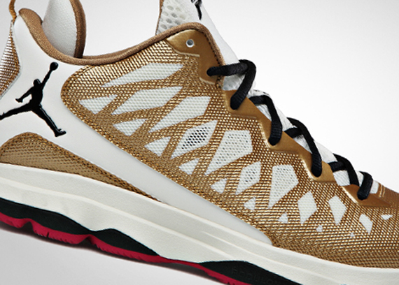 new style 8a98d 8bea2 Is Jordan Brand trying to be a bit prophetic with this metallic gold  colorway of the Jordan CP3.VI  The colorway has a bit of a  championship   feel to it, ...