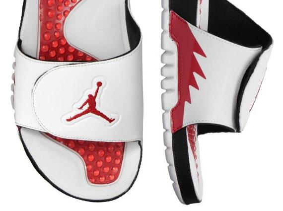 "Jordan Hydro V Retro ""Fire Red"""