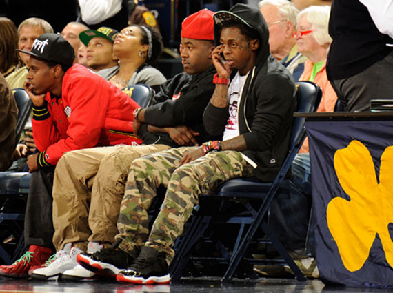 Celebrity Kicks: Kid Cudi wearing Air Jordan Retro IV ...
