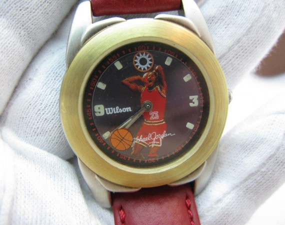 Vintage Gear: Michael Jordan Wilson Wristwatch