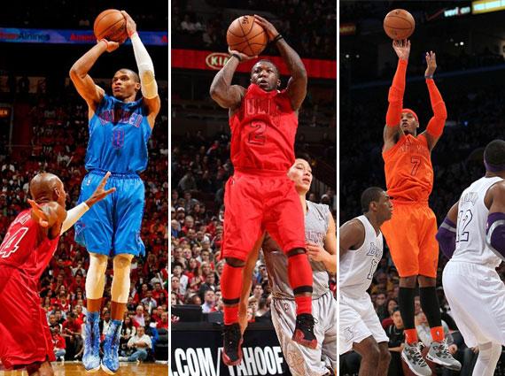 NBA Jordans on Court: Christmas 2012 Recap