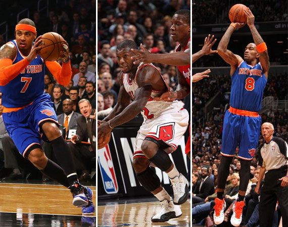NBA Jordans on Court: Around The League  12/10  12/11