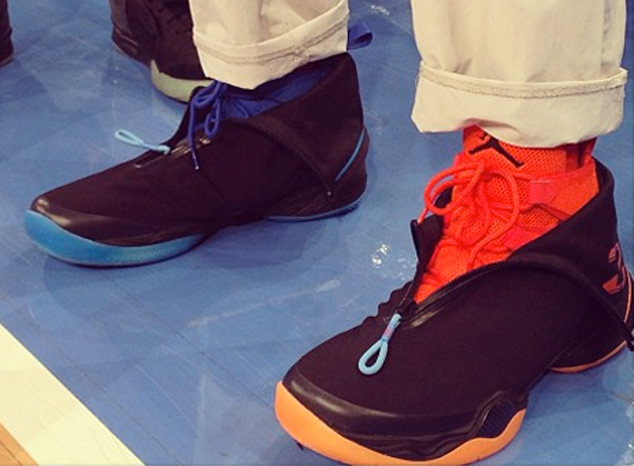 Spike Lee Wearing Air Jordan XX8