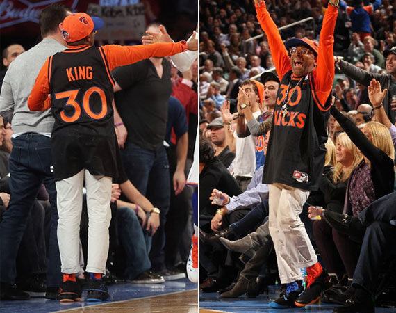 Spike Lee in Air Jordan XX8 New York
