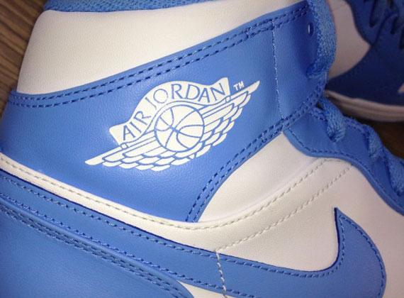 UNC Air Jordan 1 Phat