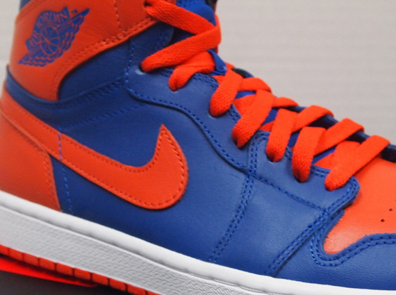 Air Jordan 1 High: Knicks   Release Reminder