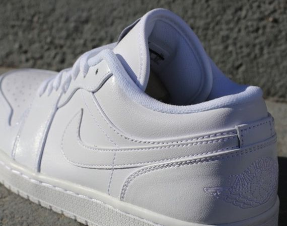 Air Jordan 1 Low: White