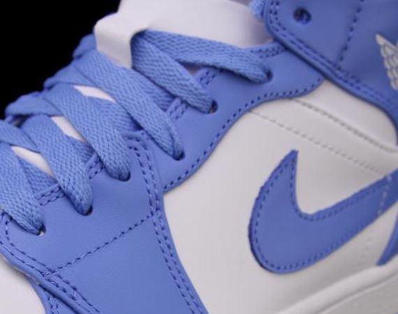 "Air Jordan 1 Mid: ""UNC"" – Available"