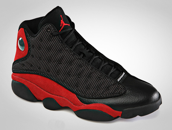 Air Jordan XIII: Bred   Official Images