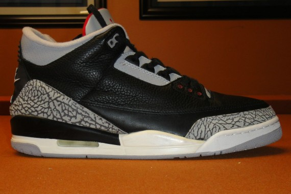 The Daily Jordan: Air Jordan III Black/Cement   1994