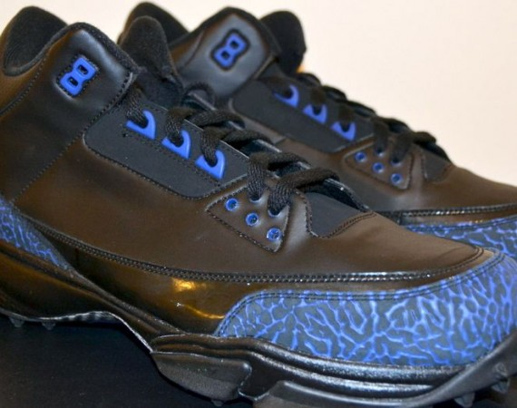 Air Jordan III: Dwight Freeney Turf PE