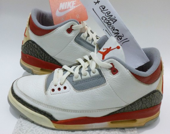 The Daily Jordan: Air Jordan III Fire Red OG   1988