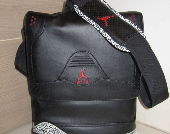 Air Jordan III True Elephant Bag