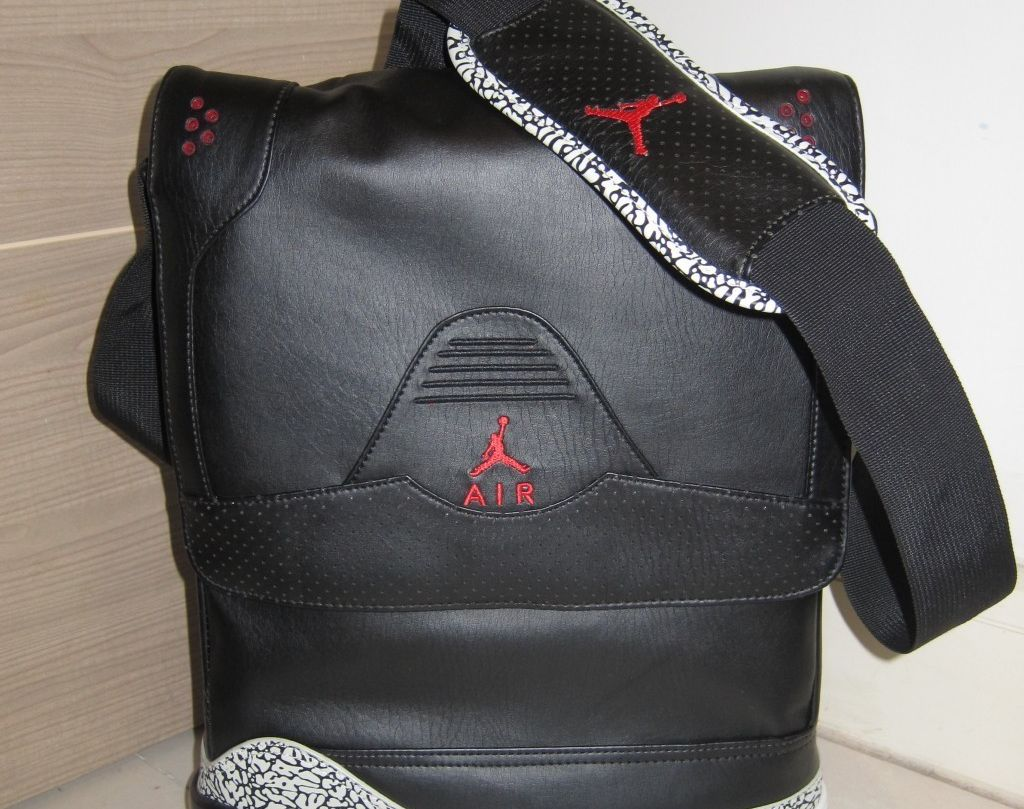 """9748ef7a5f08 Do you remember this Jordan Brand bag from back in 2007  The Air Jordan III  """"True Elephant"""" bag was a quirky accessory that sported quite a bit of Air  ..."""