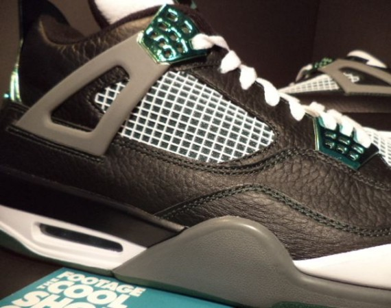 Air Jordan IV: Oregon Ducks   Available on eBay