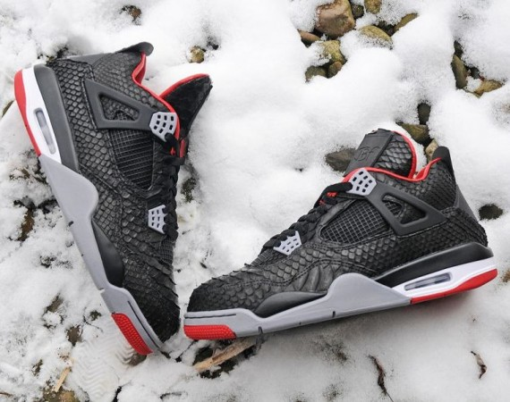 Python Air Jordan IV Customs by JBF