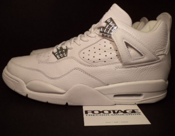 The Daily Jordan: Air Jordan IV   White   Chrome   2000